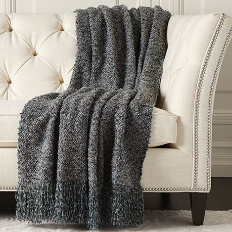 Melange Throw, Eucalyptus ,  , large