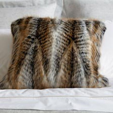 Faux Fur Chevron Pillow ,  , hover_image