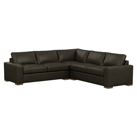 Conway Three-Piece Leather Sectional Product Tile Image 727788G3