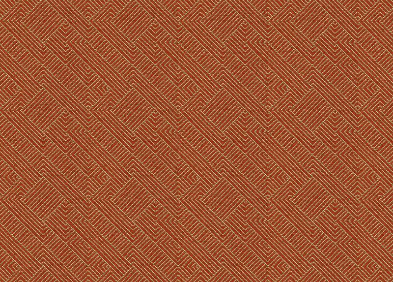 Hadi Tangerine Fabric