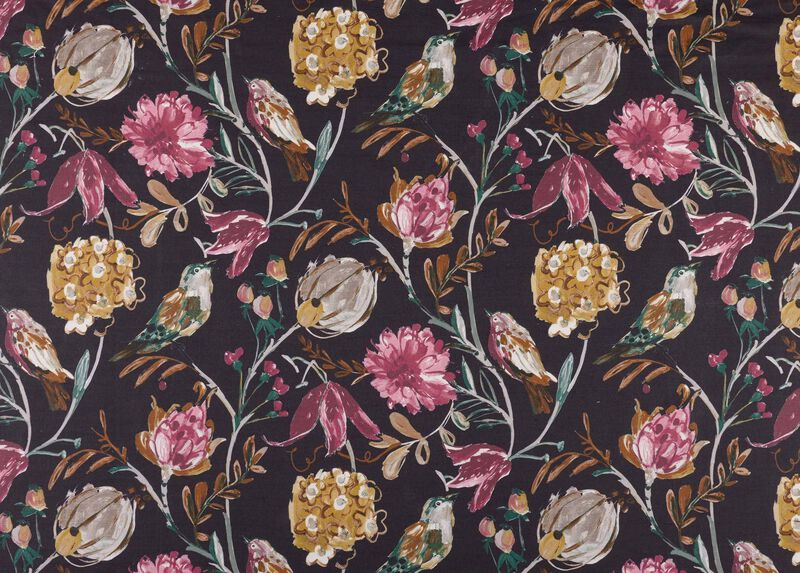 Catrine Wine Fabric