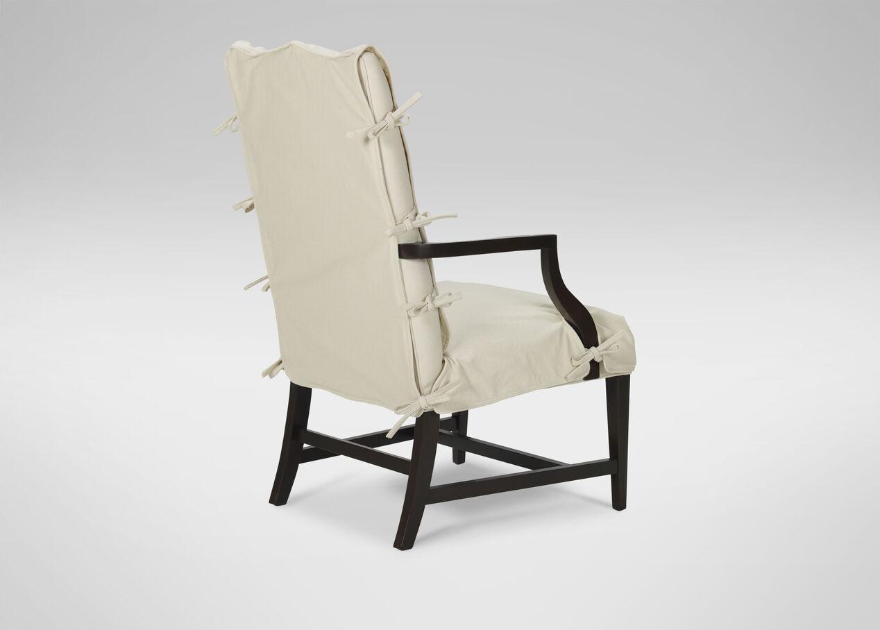 Popular Slipcover for Martha Washington Chair | Arm & Host Chairs | Ethan  WT21