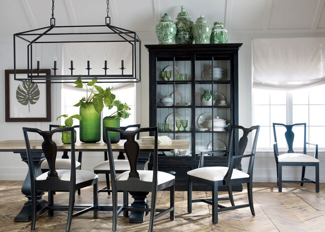 Cameron Rustic Dining Table Tables Ethan Allen
