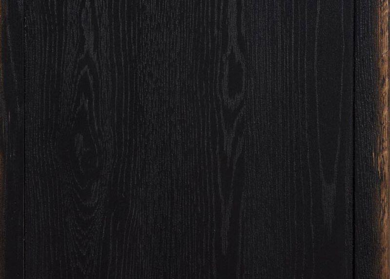 Rustic Black (608) Finish Sample