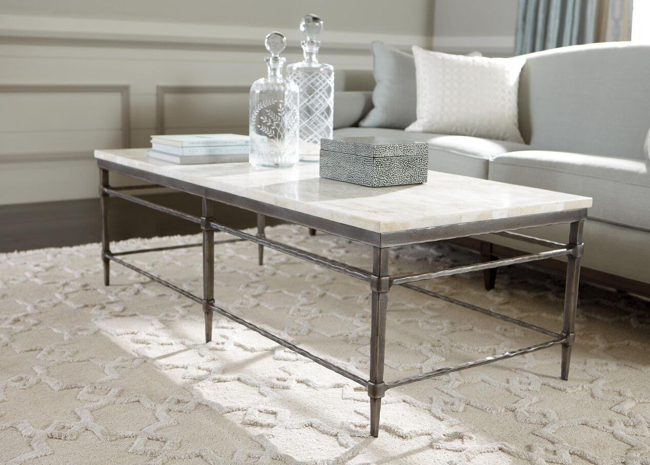 Vida stone top coffee table 9