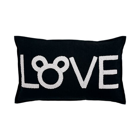 Mickey Mouse Love Pillow, Mickey's Ears ,  , large