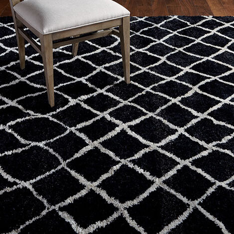 Coaxial Rug, Black/Ivory Product Tile Hover Image 041559