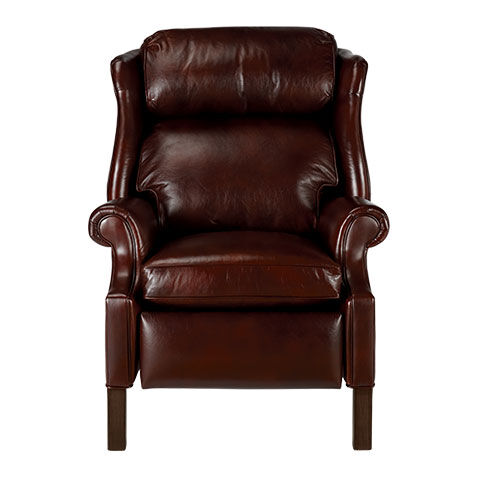 Superior Townsend Leather Recliner , , Large ...