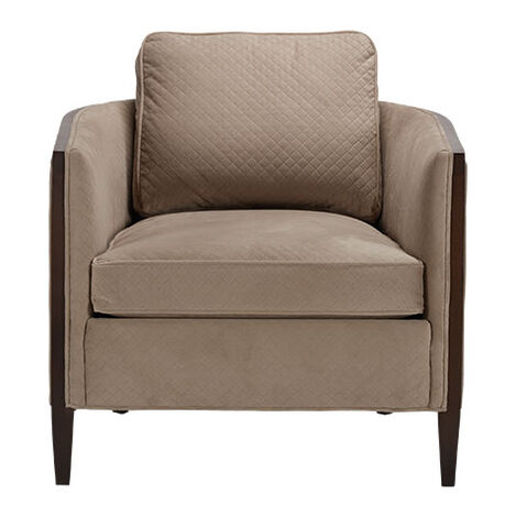 Suede Look Fauteuil.Living Room Chairs Accent Chairs For Living Room Ethan Allen