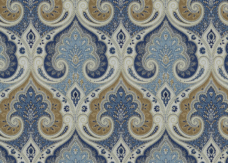 Anjali Blue Fabric