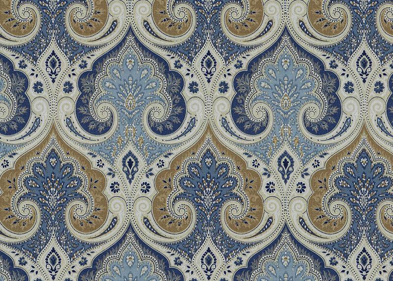Anjali Blue Fabric