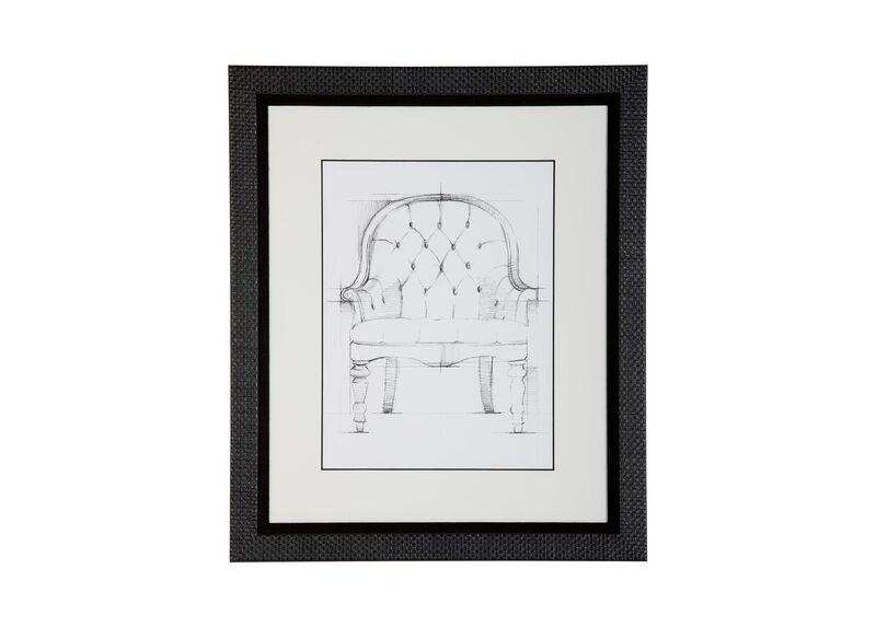 Historic Chair Sketch VI
