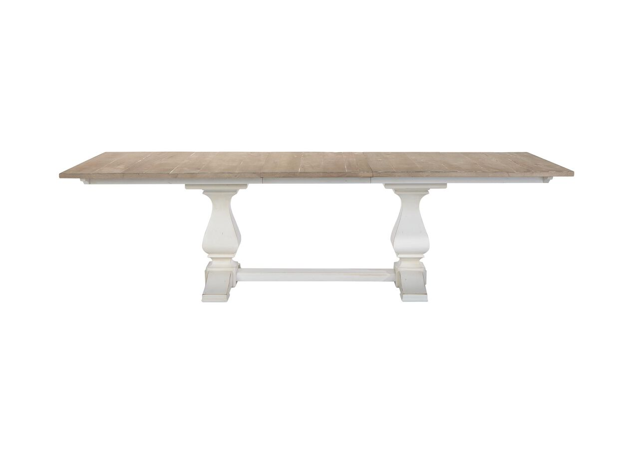 Cameron Extension Rustic Dining Table Dining Tables