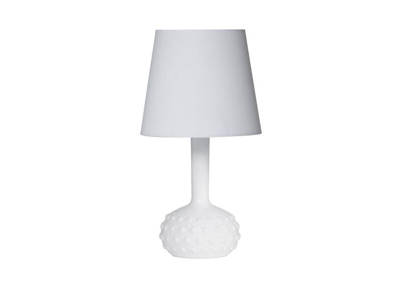 Hobnail Accent Lamp