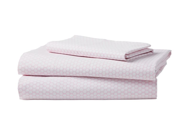 Dotty Sheet Set, Petal