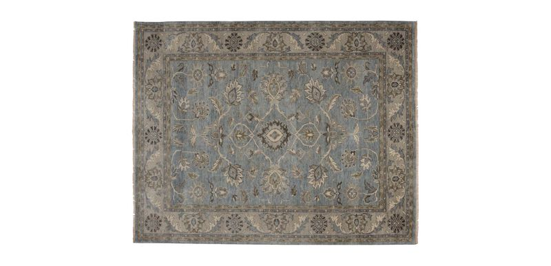 Suzain Rug, Blue/Gray
