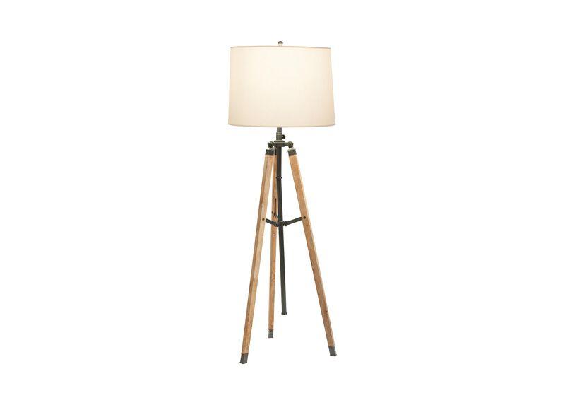 Surveyor's Bronze Floor Lamp