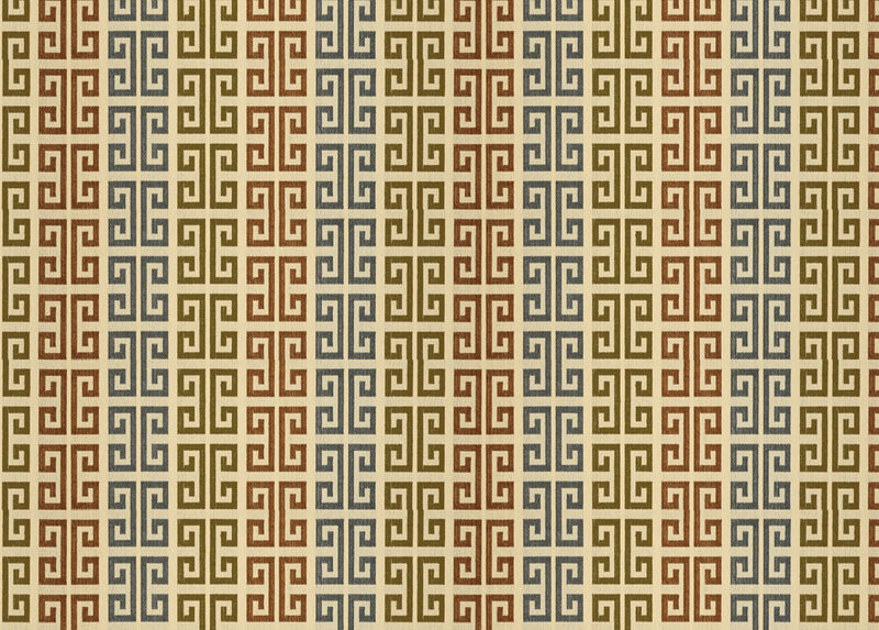 Tarlo Copper Fabric by the Yard