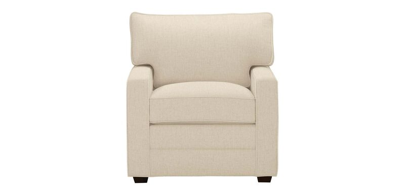Bennett Track-Arm Chair, Quick Ship , Palmer Pearl (Q3039), chenille , large_gray