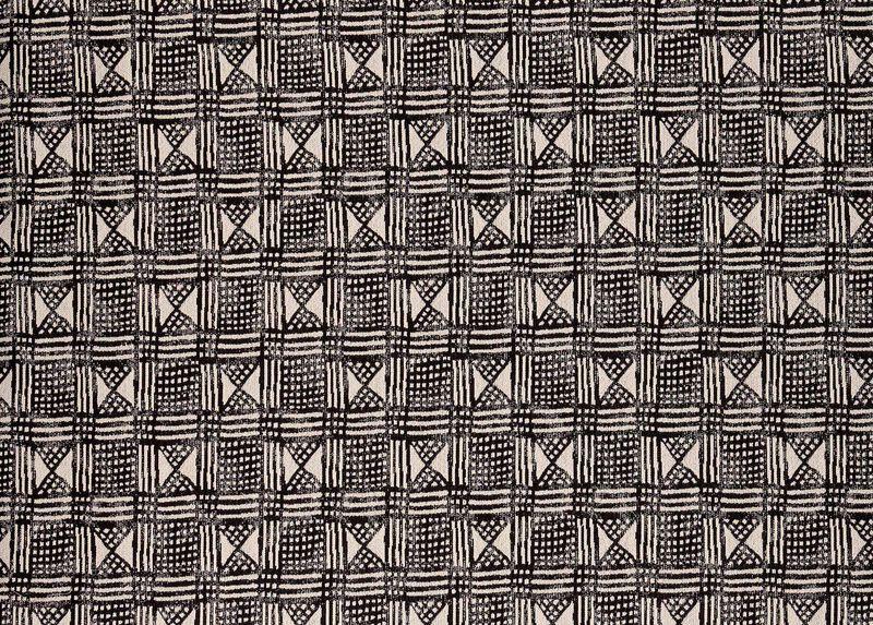 Barker Black Fabric