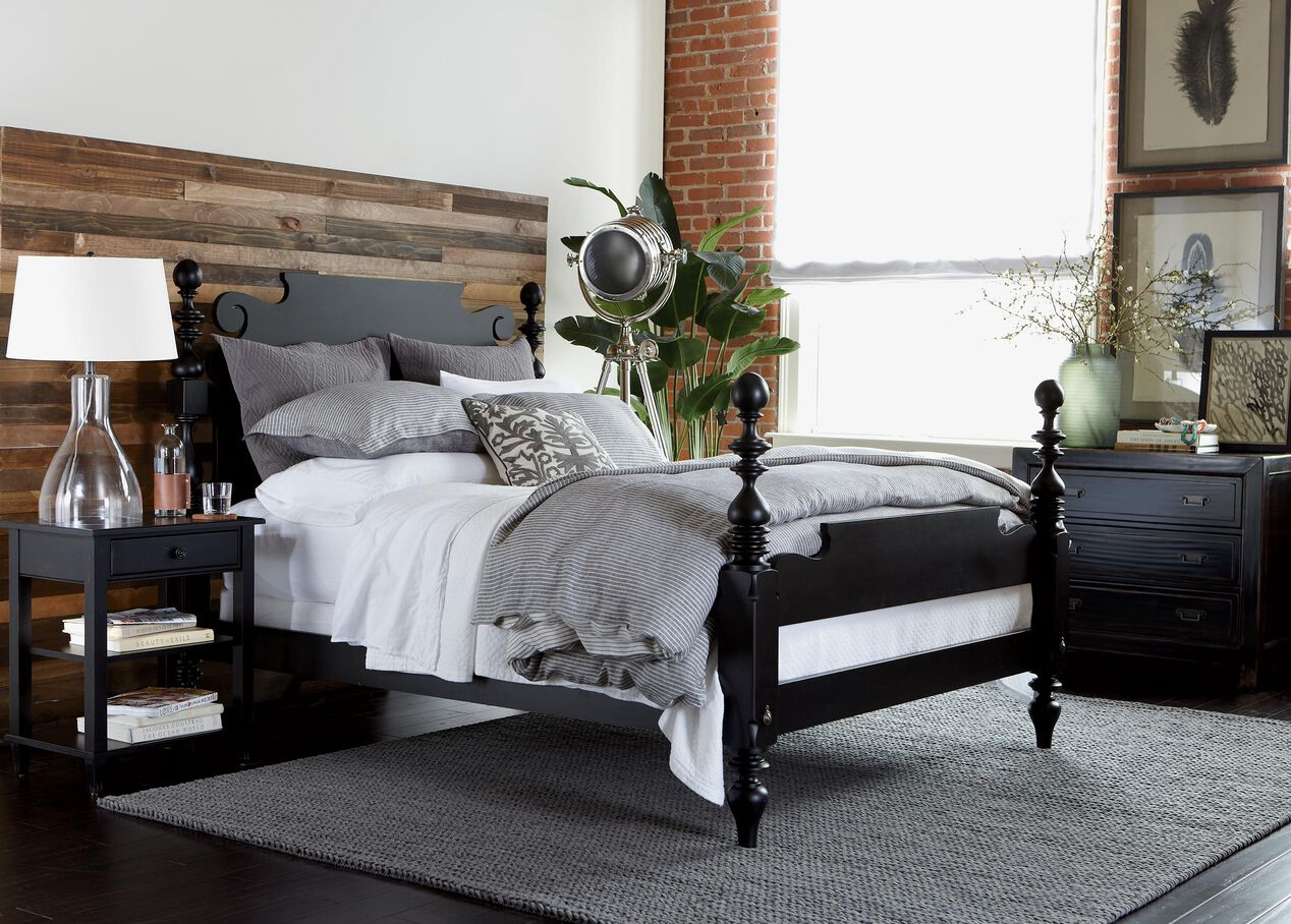 quincy bed ethan allen beds ethan allen. Black Bedroom Furniture Sets. Home Design Ideas