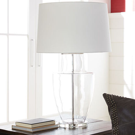 Gessa Glass Urn Table Lamp Product Tile Hover Image 096045