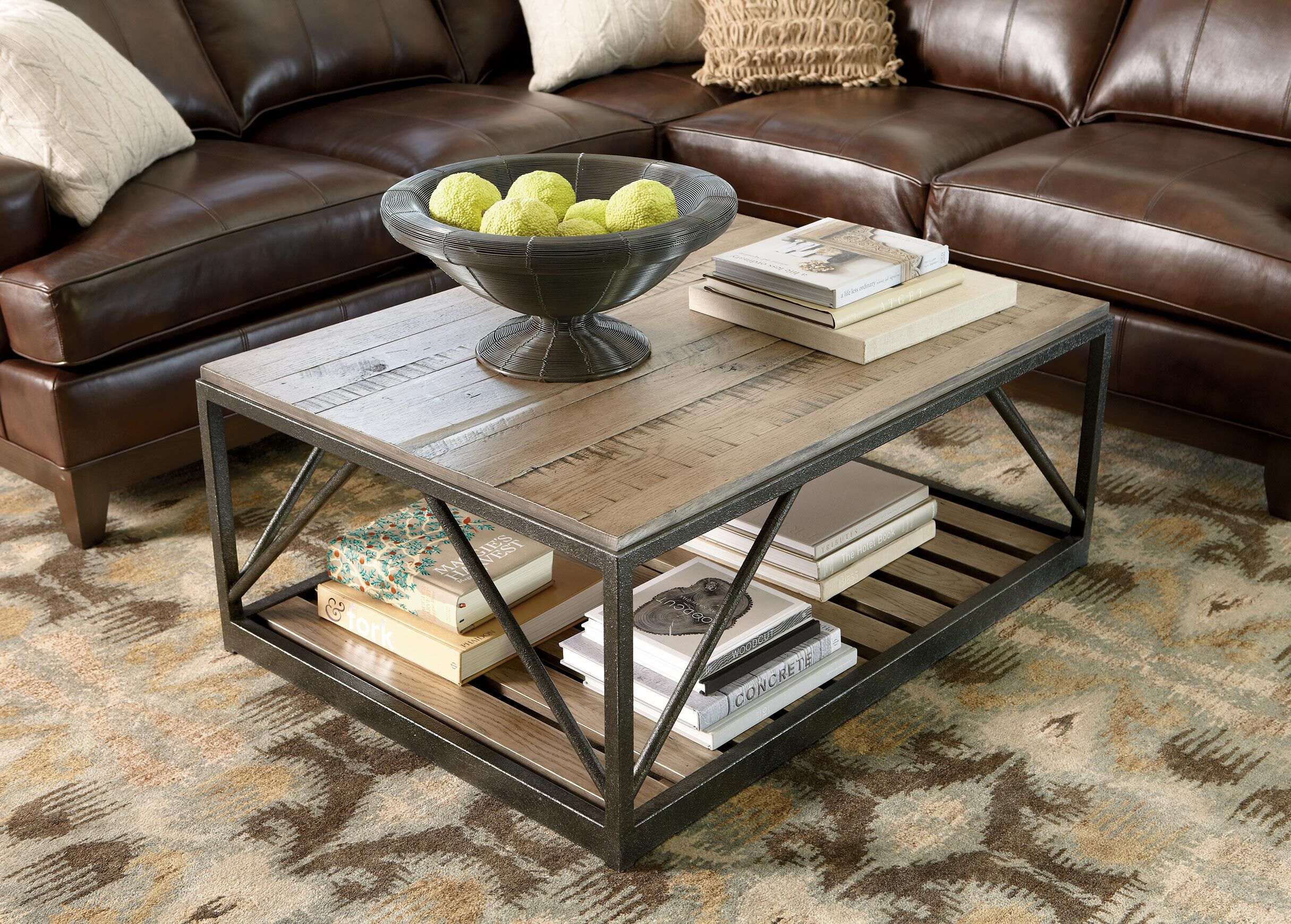 Beam Metal Base Coffee Table Product Video Thumbnail. Previous