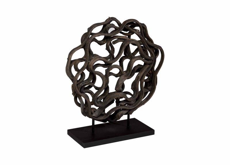 Charcoal Weston Sculpture