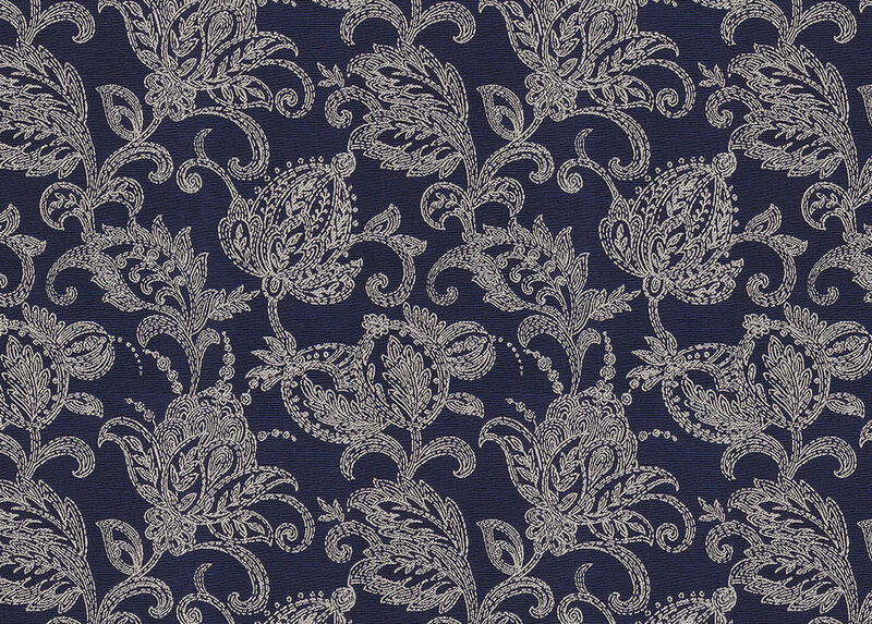 Gabriella Navy Fabric by the Yard