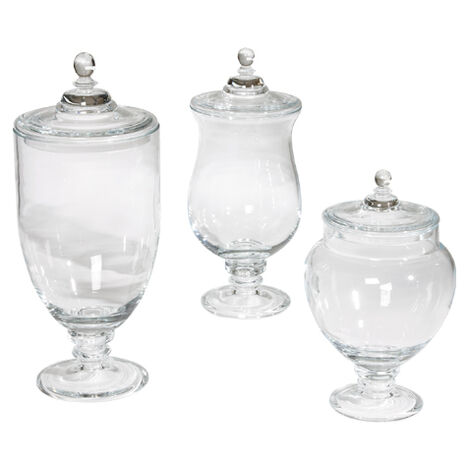Darcy Glass Jars ,  , large