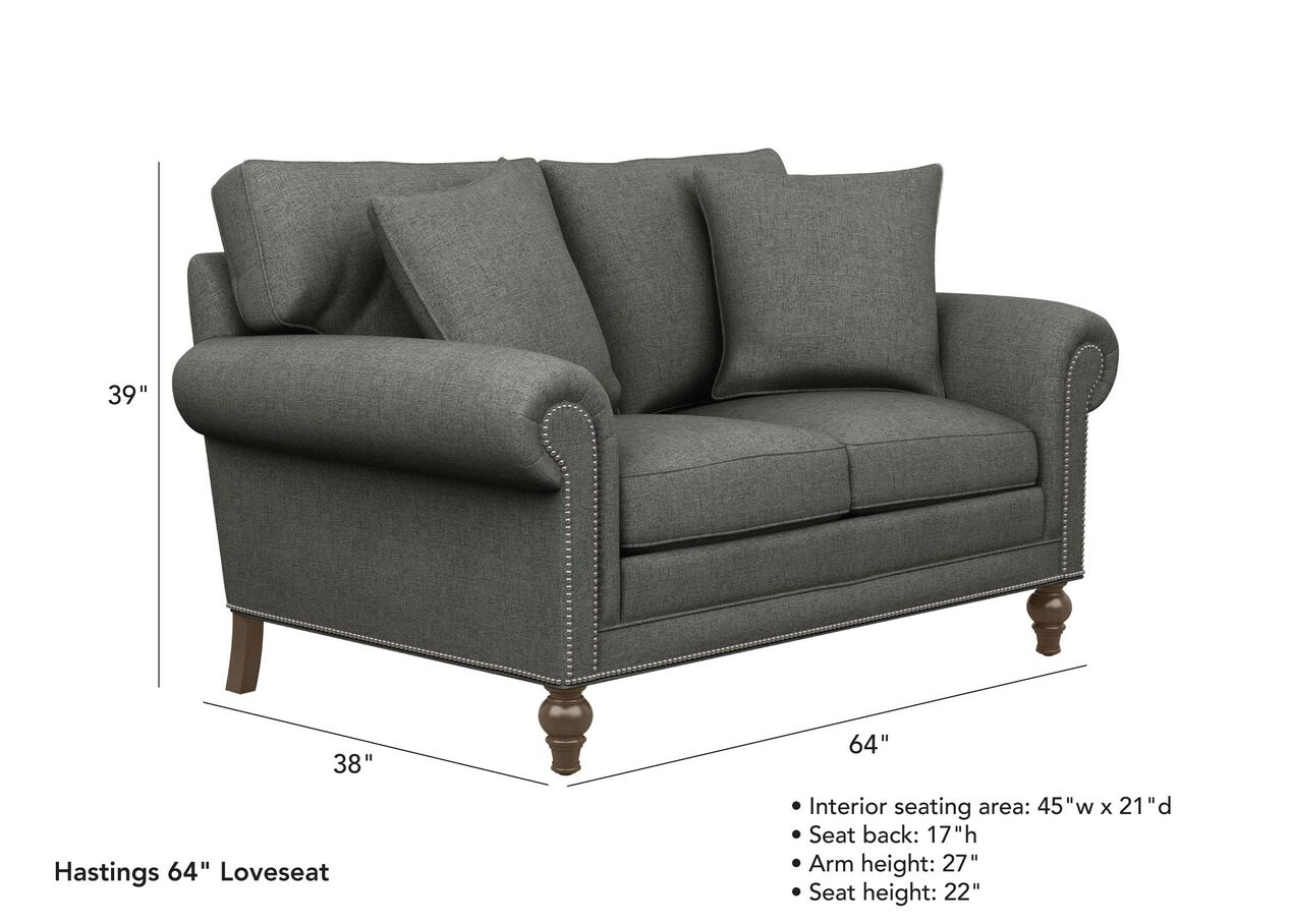 Hastings Two Seat Sofa Ethan Allen
