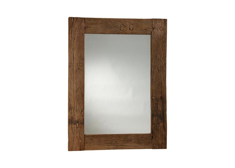 Reclaimed Wood Wall Mirror ,  , large_gray