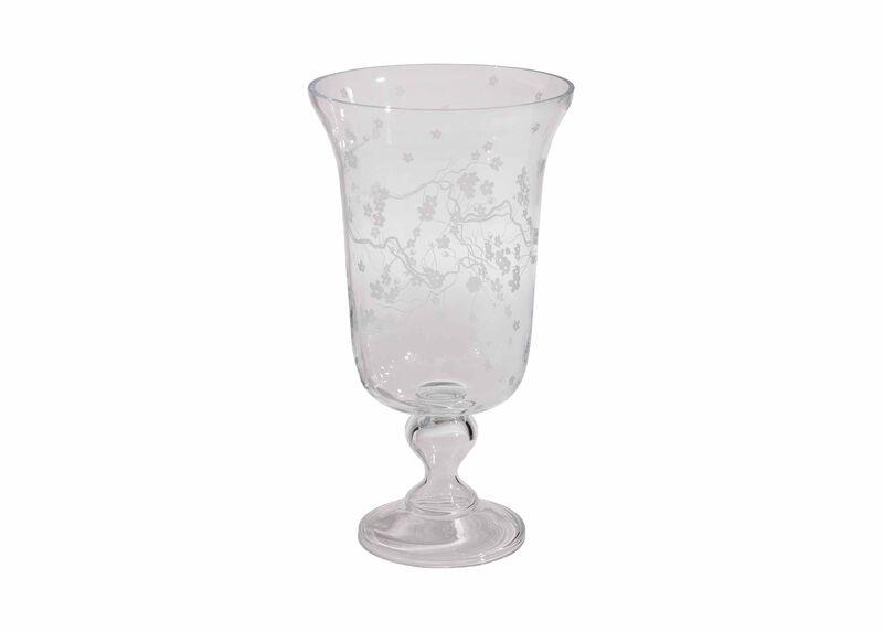 Cherry Blossom Pedestal Vase ,  , large_gray