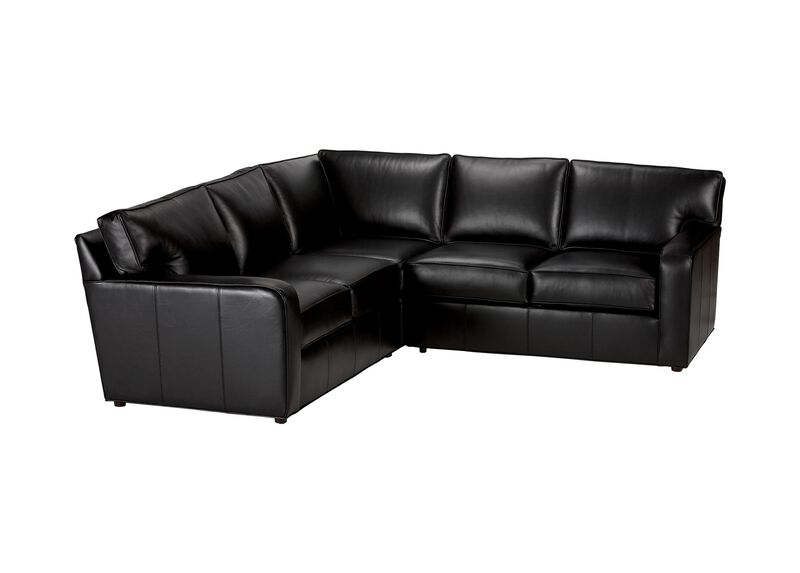 Retreat Track-Arm Leather Sectional ,  , large_gray