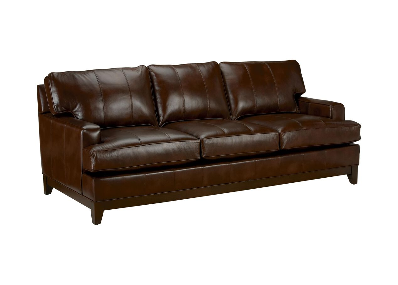 Arcata Leather Sofa, Quick Ship   Sofas & Loveseats   Ethan Allen