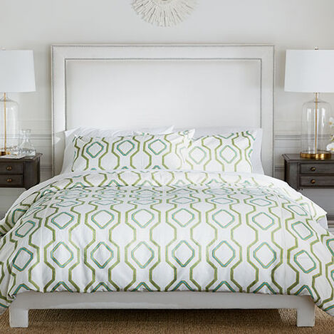 Ogee Embroidered Duvet and Shams ,  , large