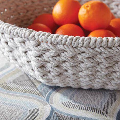 Jolene Cotton Rope Low Basket Product Tile Hover Image 432422