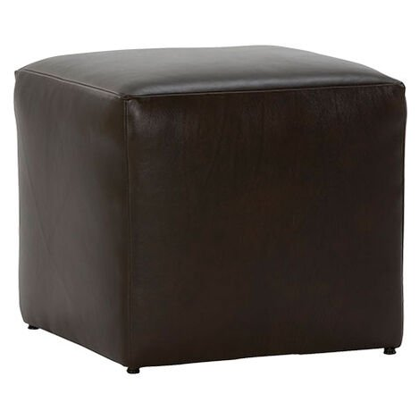 Chad Leather Ottoman ,  , large