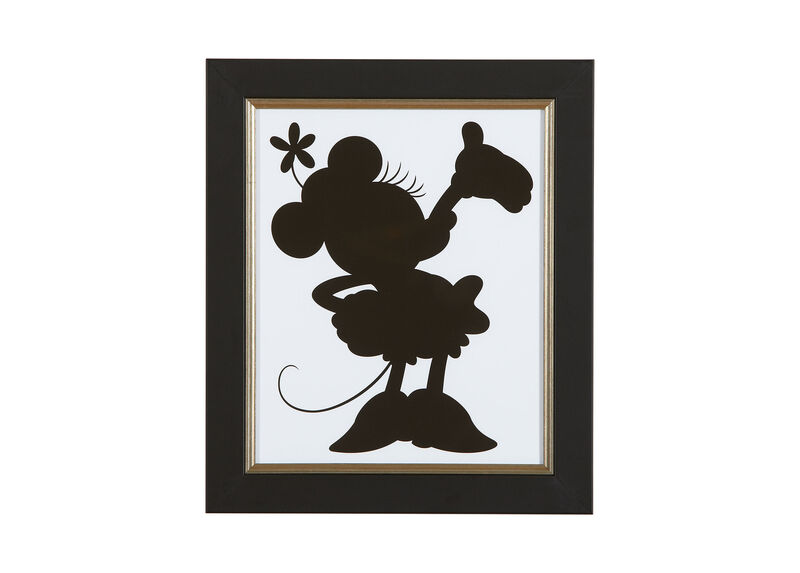 Minnie Mouse Silhouette IV ,  , large_gray
