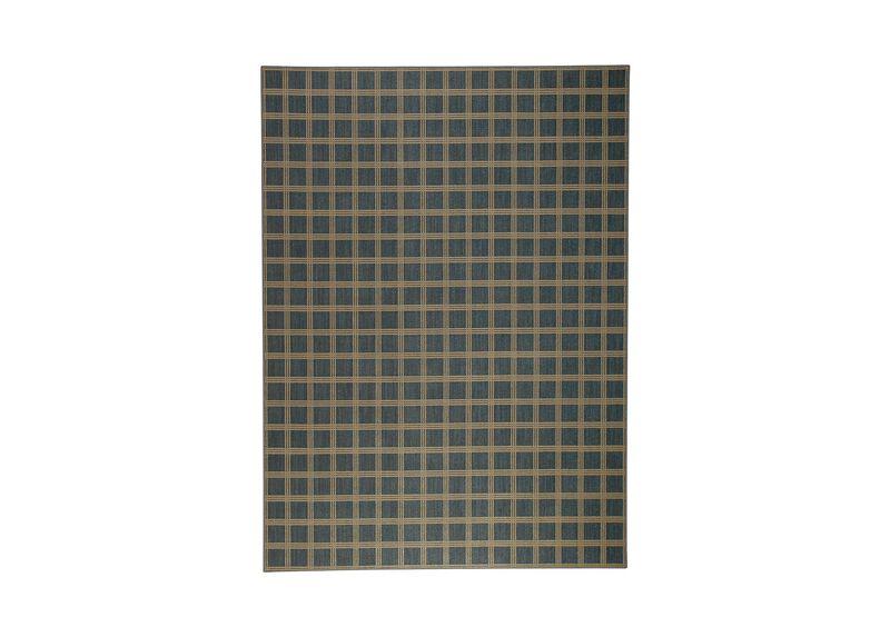 Scottish Block Serged Rug ,  , large_gray
