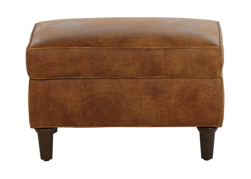 Malone Leather Ottoman ,  , large_gray