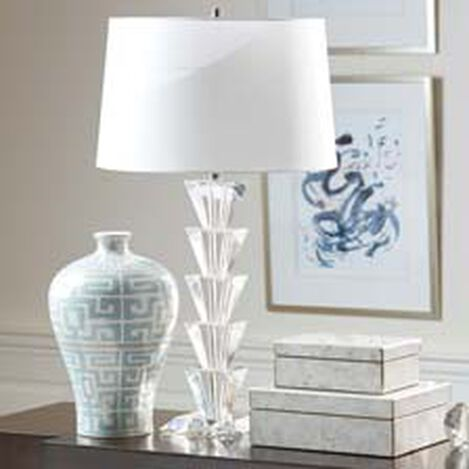 Palm Crystal Table Lamp ,  , hover_image