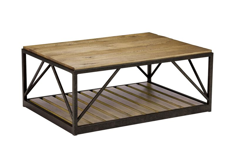 Beam Metal Base Coffee Table ,  , large_gray