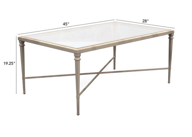 Rectangular Heron Coffee Table Coffee Tables Ethan Allen