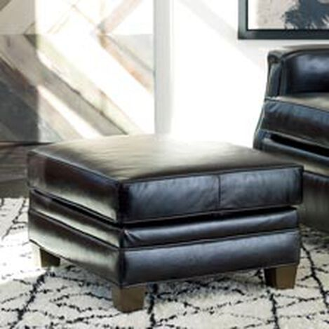 Dean Leather Ottoman ,  , hover_image