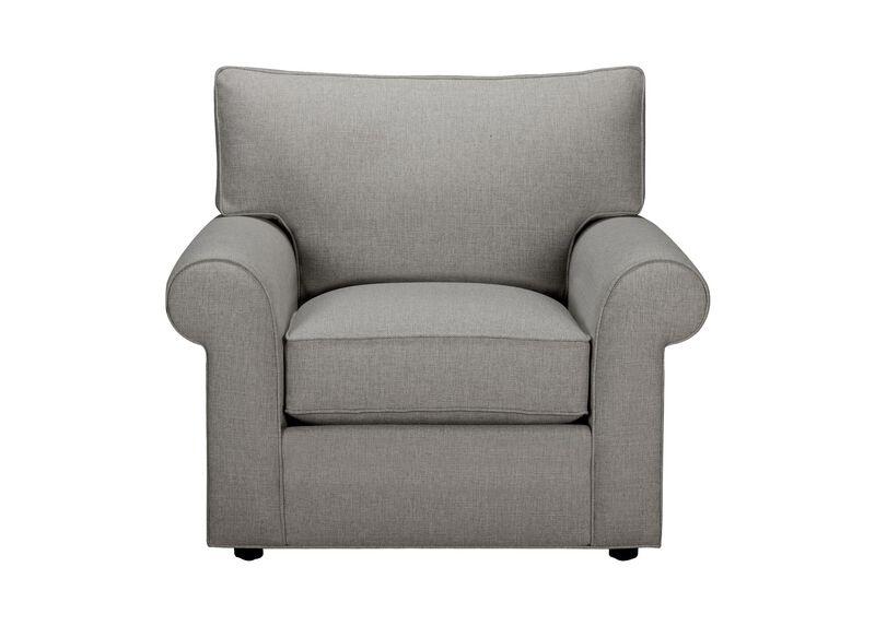 Retreat Roll-Arm Chair, Quick Ship