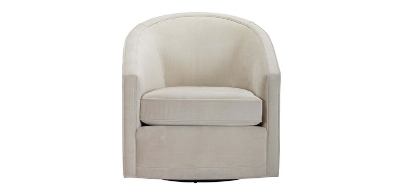 Baylee Barrel-Back Swivel Chair