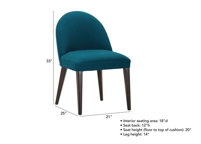 Excellent Vera Midcentury Modern Dining Side Chair Upholstered Ethan Gmtry Best Dining Table And Chair Ideas Images Gmtryco