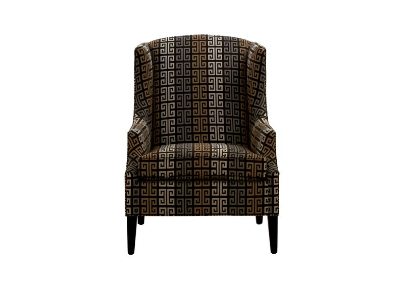 Isaac Wing Chair ,  , large_gray