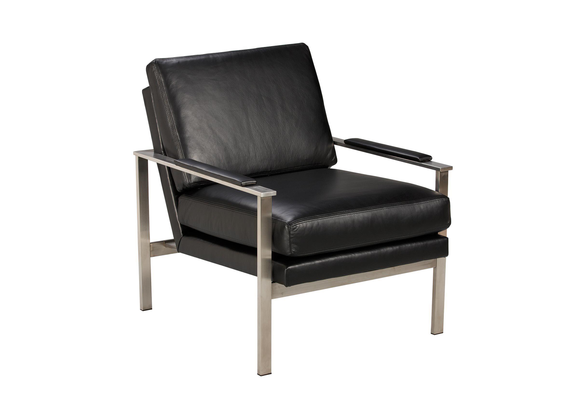 Nice Jericho Leather Chair , , Alt